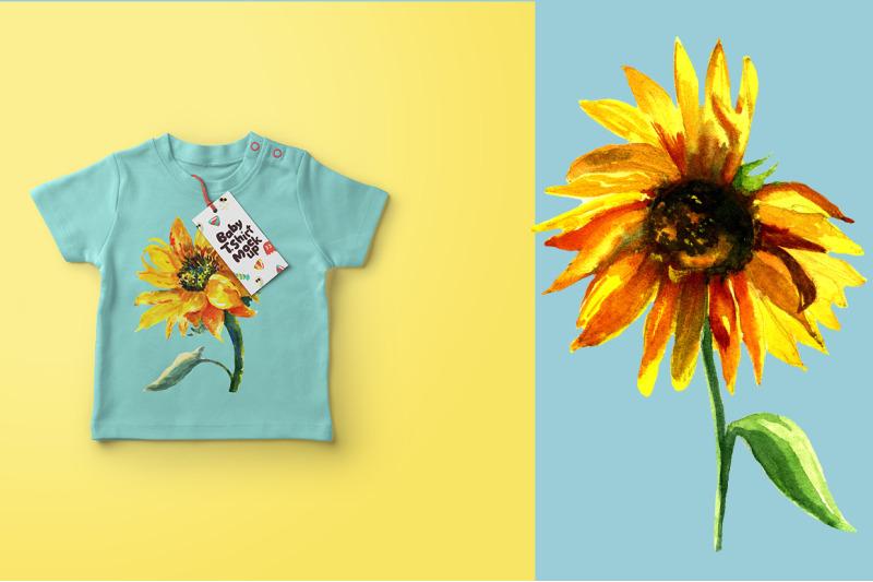 set-sunflowers