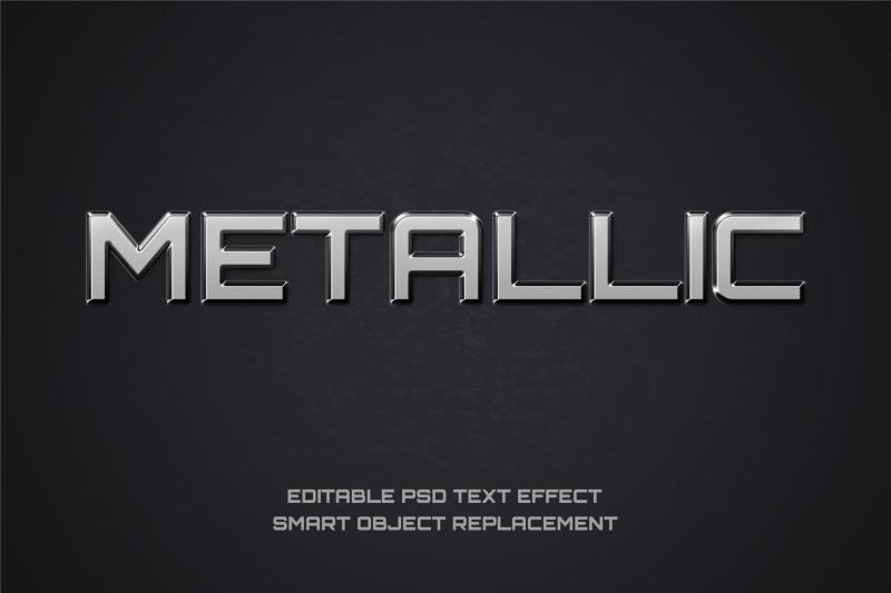 metallic-font-effect-editable-psd