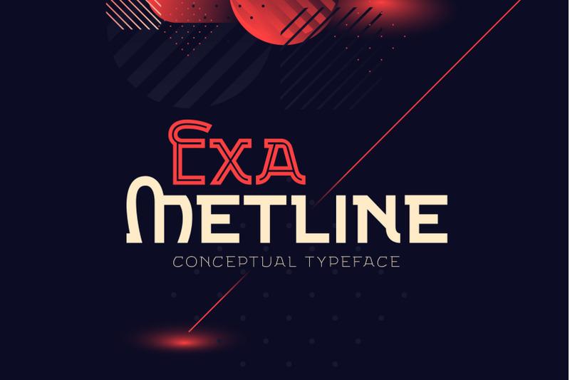 exa-metline-font