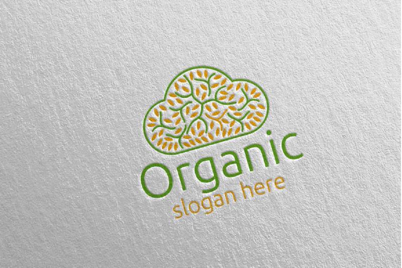 cloud-natural-and-organic-logo-design-template-30
