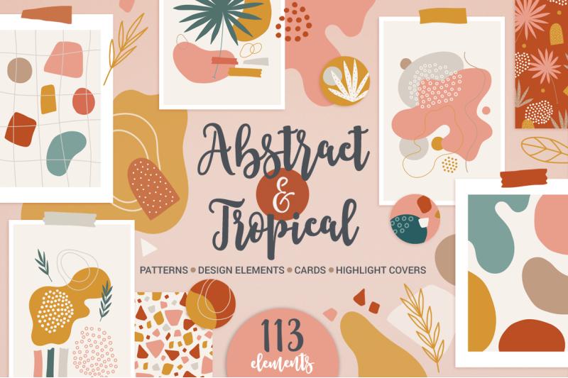 abstract-amp-tropical-kit
