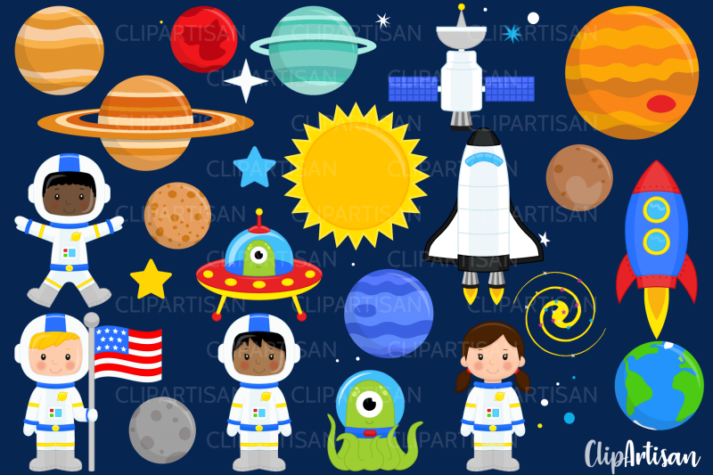 astronauts-in-space-clip-art