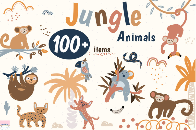 jungle-animals-pack
