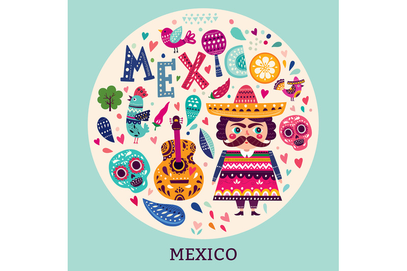 mexican-colorful-collection