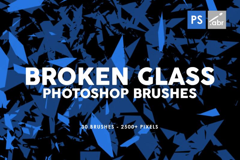 30-broken-glass-photoshop-stamp-brushes-vol-1
