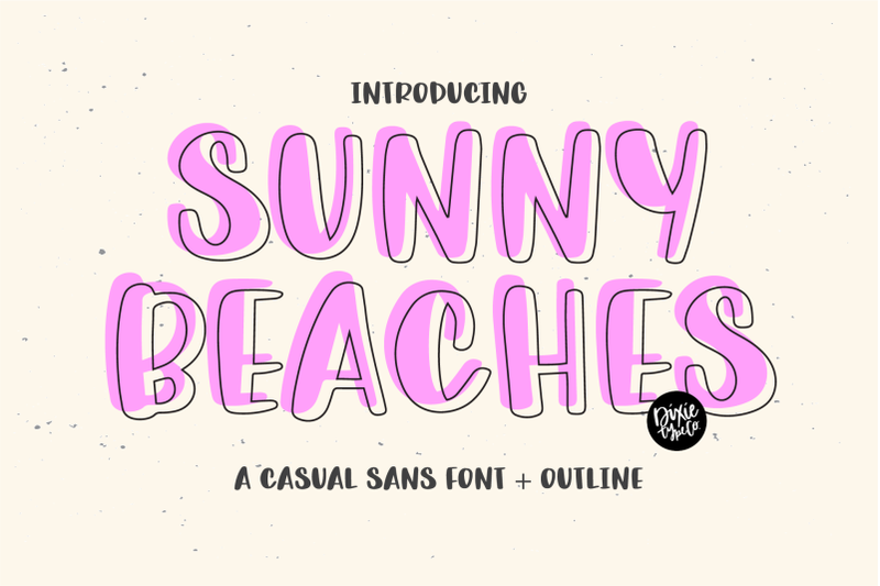 sunny-beaches-a-casual-sans-outline-font