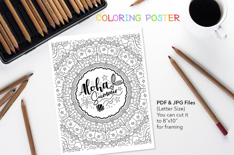 aloha-summer-coloring-page