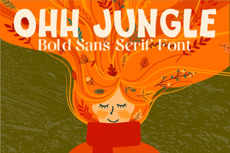ohh-jungle-font