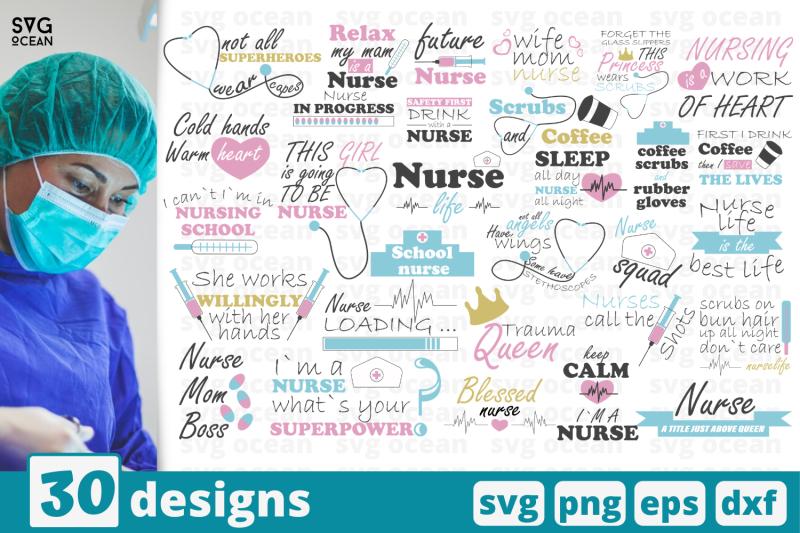 30-nurse-quotes-svg-bundle-work-quotes-cricut-svg