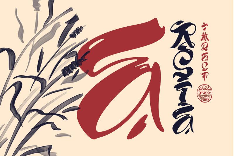 asia-impact-font