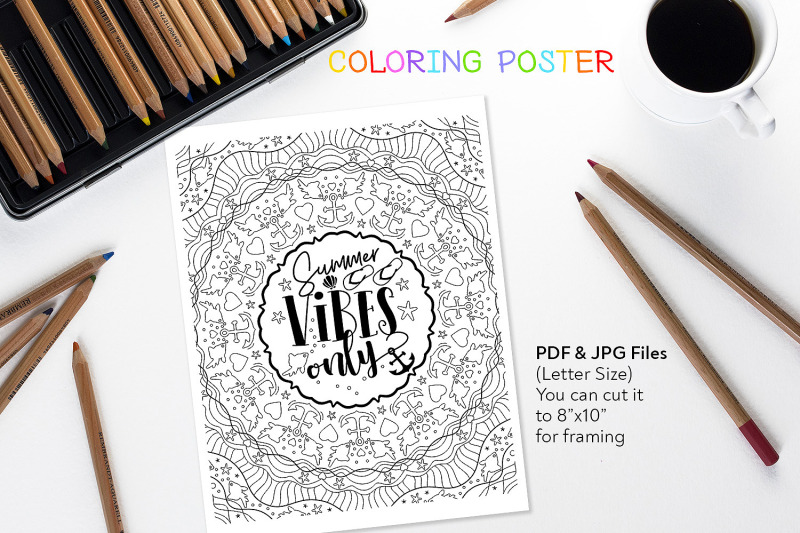 summer-vibes-only-coloring-page
