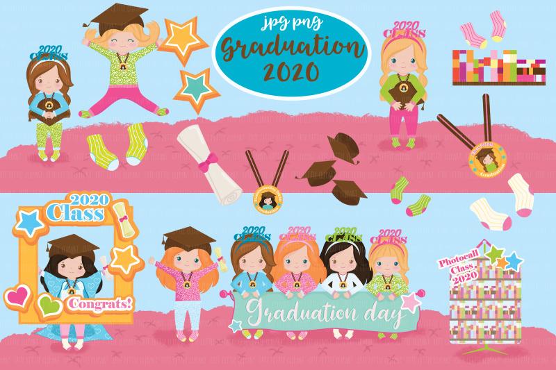 graduation-girl-2020-cliparts