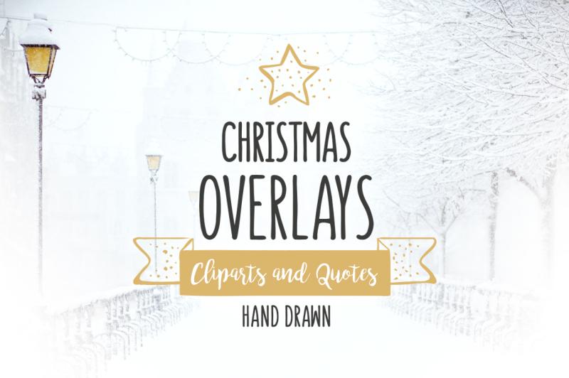 christmas-overlays-vector-set