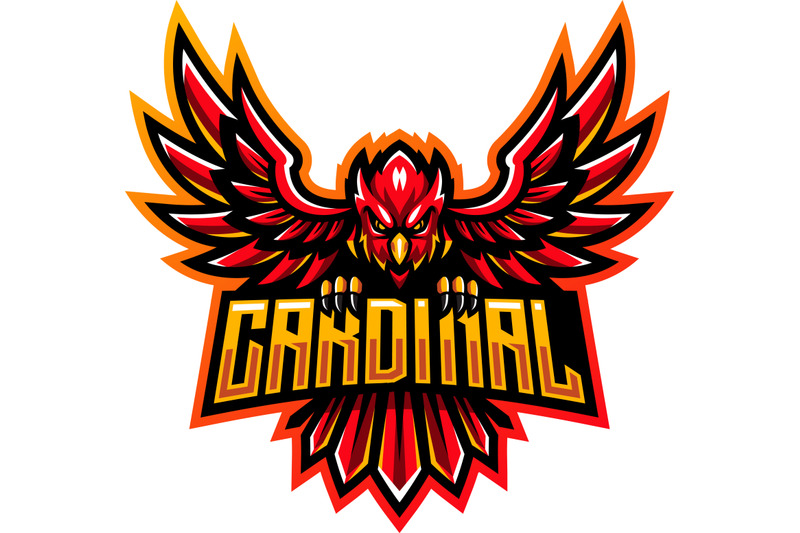 cardinal-esport-mascot-logo