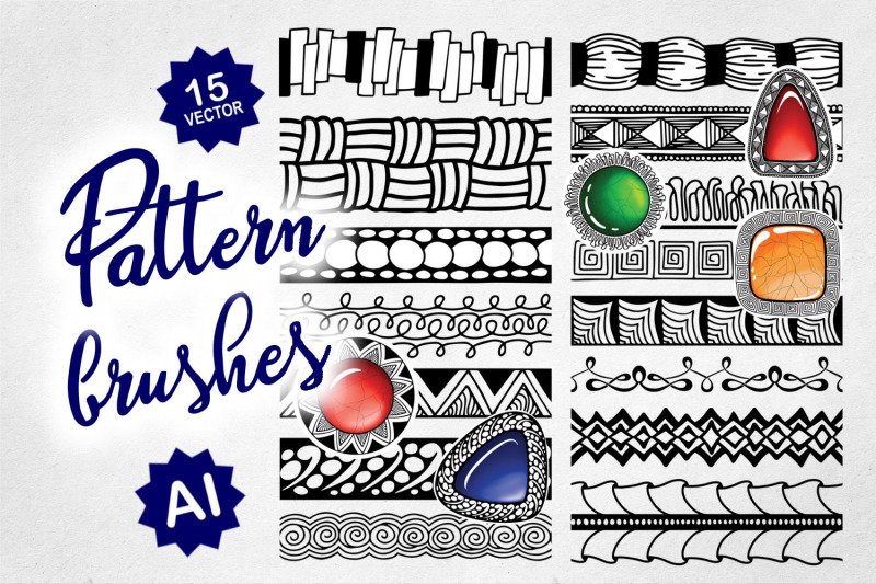 doodle-pattern-brush-set-for-ai