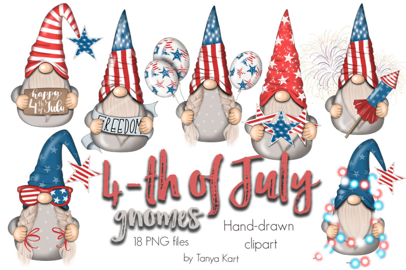 4th-of-july-gnomes-clipart