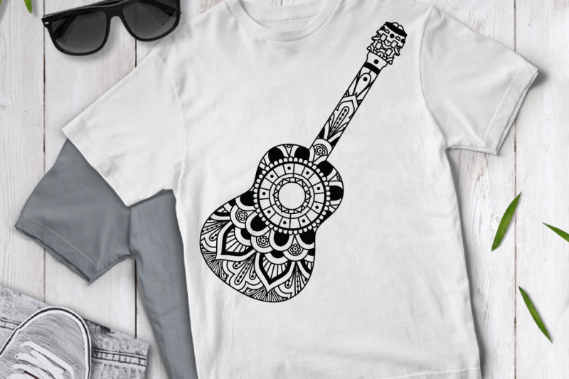 guitar-mandala-svg-mandala-guitar-svg-cut-files-guitar-clipart