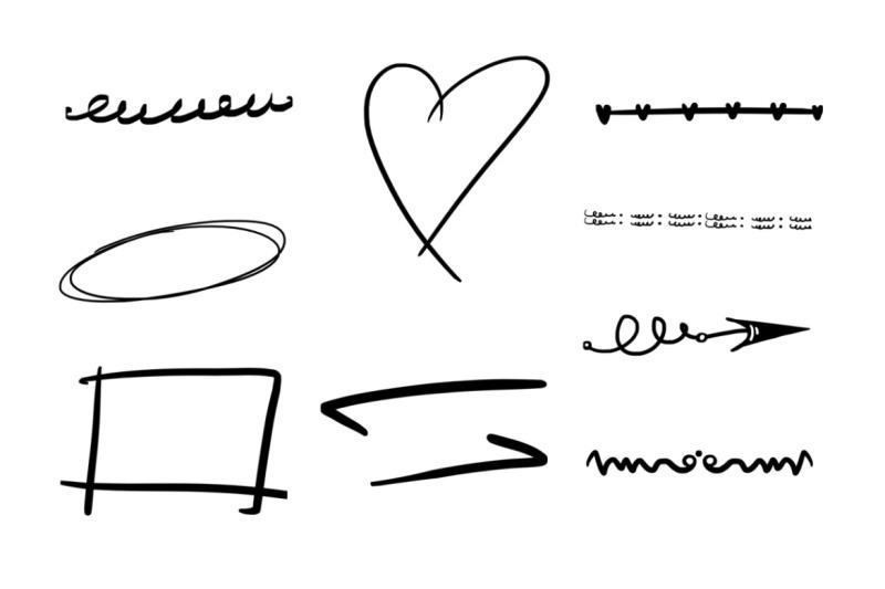 45-underline-photoshop-stamp-brushes-vol-2