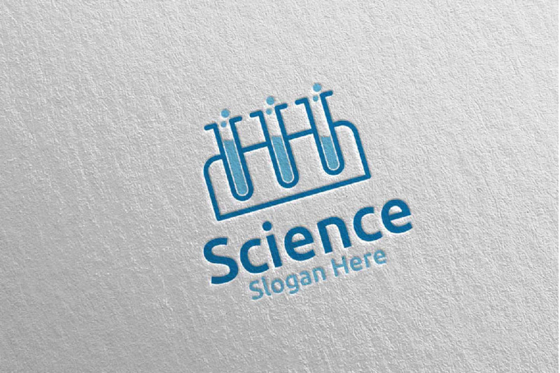 science-and-research-lab-logo-design-37