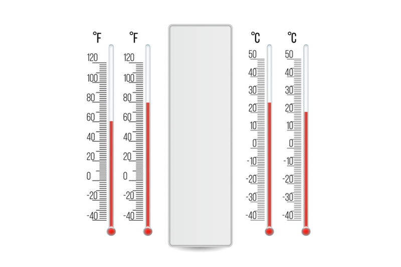 meteorology-thermometer-vector-scale-celsius-fahrenheit-isolated-illustration