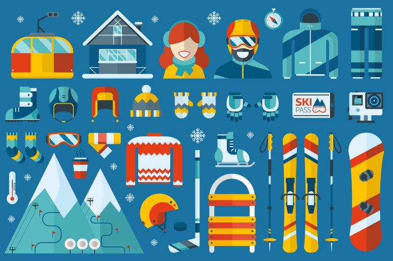 winter-sports-and-activity-icons