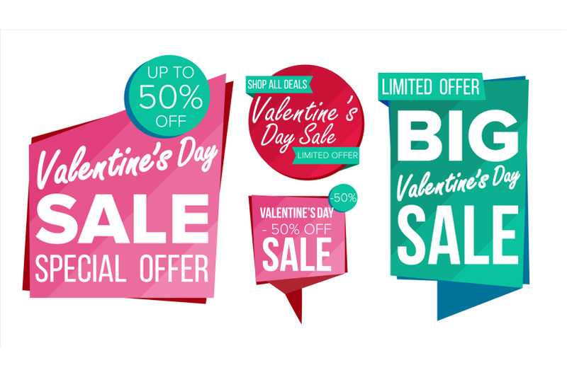 valentine-s-day-sale-banner-collection-vector-online-shopping-website-stickers-love-web-page-design-valentine-advertising-element-shopping-backgrounds-isolated-illustration