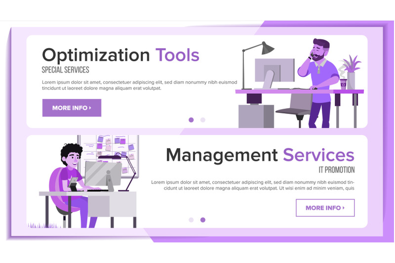 horizontal-banners-website-design-vector-business-interface-responsive-ux-design-cartoon-character-opportunity-form-illustration