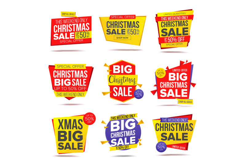 biggest-xmas-offer-sale-banner-vector-crazy-sale-poster-isolated-illustration