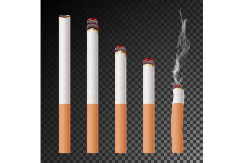 cigarette-set-vector-realistic-cigarette-butt-different-stages-of-burn-isolated-illustration-burning-classic-smoking-cigarette-on-transparent-background