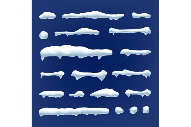 snow-drift-vector-snowballs-snowdrift-new-year-winter-ice-element-realistic-snow-caps-isolated-illustration