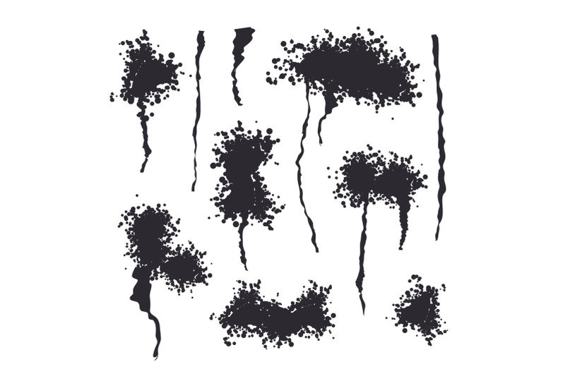 black-spray-isolated-vector-grunge-effect-spread-texture-abstract-paint-blots-on-white-background-illustration