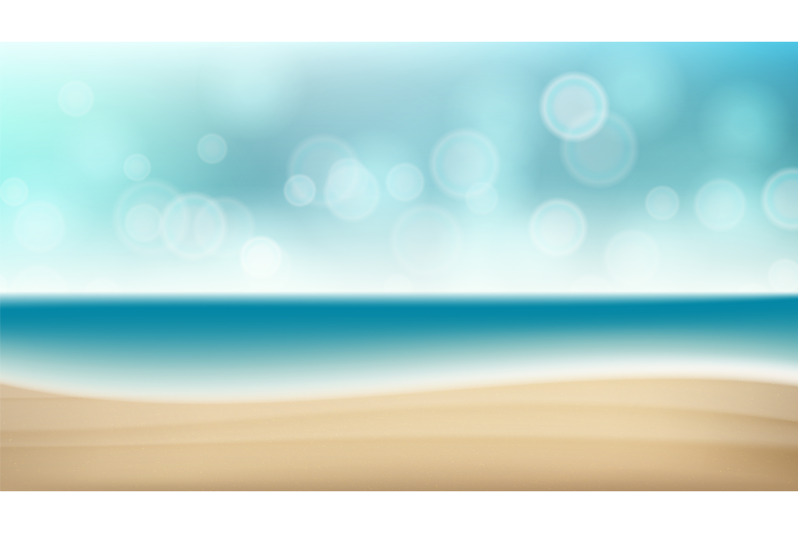 summer-beach-vector-background-blur-sea-coast-outdoor-summer-vacation-cruise-illustration