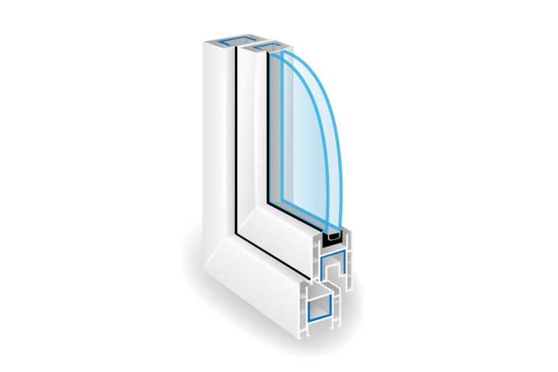plastic-window-frame-profile-two-transparent-glass-vector-illustration-of-structure