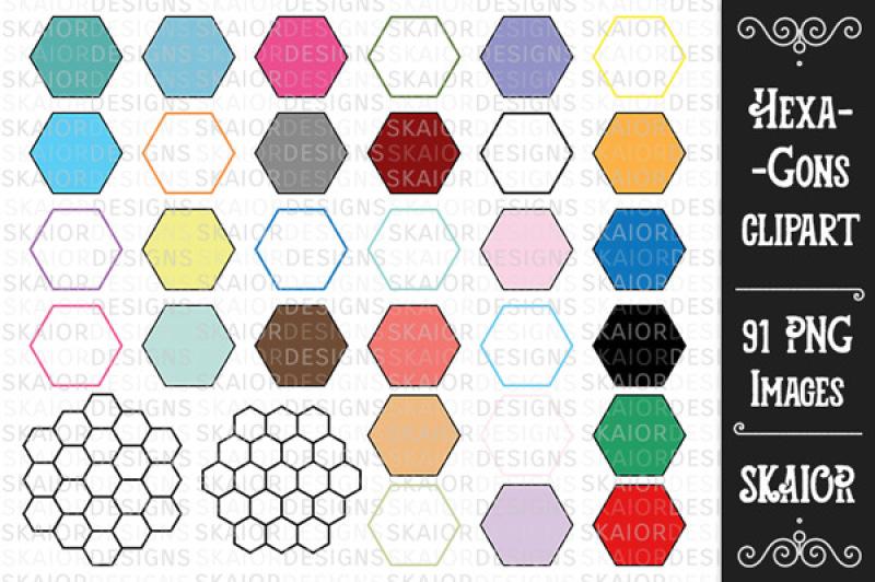 hexagons-clipart