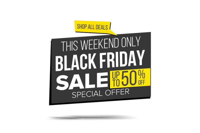 black-friday-sale-banner-vector-special-offer-sale-banner-holidays-sale-announcement-isolated-on-white-illustration