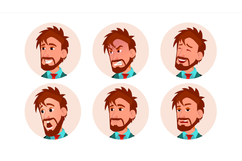 man-avatar-people-vector-icon-placeholder-european-person-shilouette-various-emotions-scared-aggressive-user-portrait-flat-character-illustration