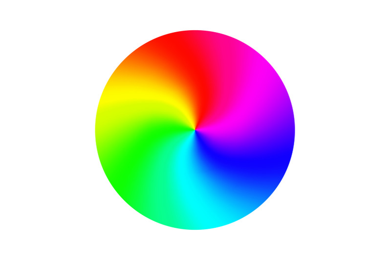 color-wheel-vector-abstract-colorful-rainbow-circle-isolated-illustration