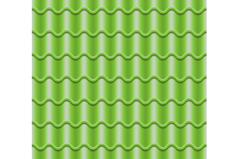 green-corrugated-tile-vector-element-of-roof-seamless-pattern-classic-ceramic-tiles-cover-illustration