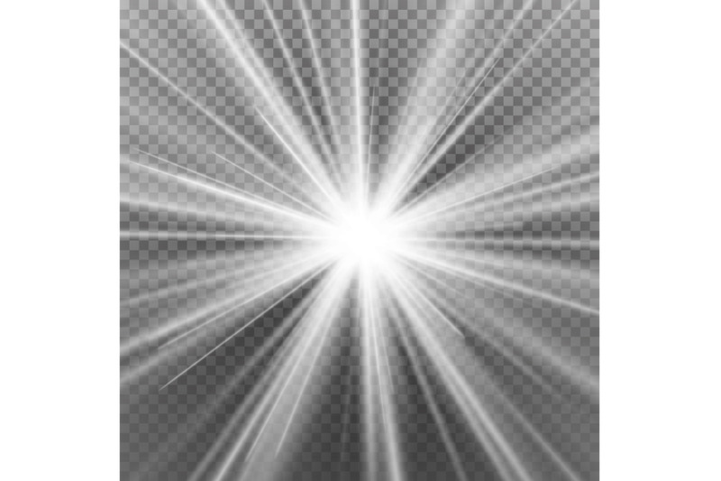 light-flare-special-effect-abstract-image-of-lighting-flare-isolated-on-transparent-background-vector-illustration