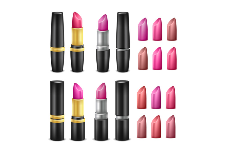 realistic-lipstick-set-vector-black-gold-and-silver-tubes-for-woman-lips-make-up-isolated-illustration