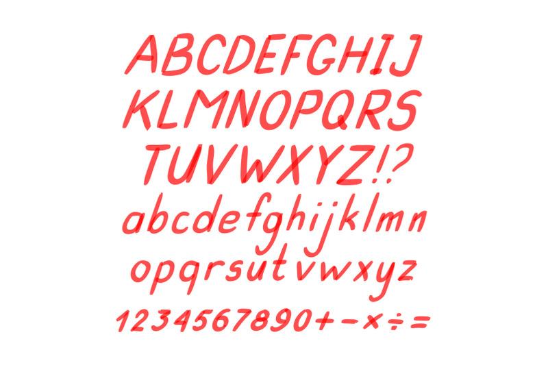 marker-hand-written-doodle-symbols-vector