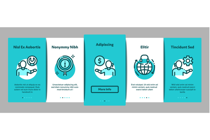 telemarketing-sale-onboarding-elements-icons-set-vector