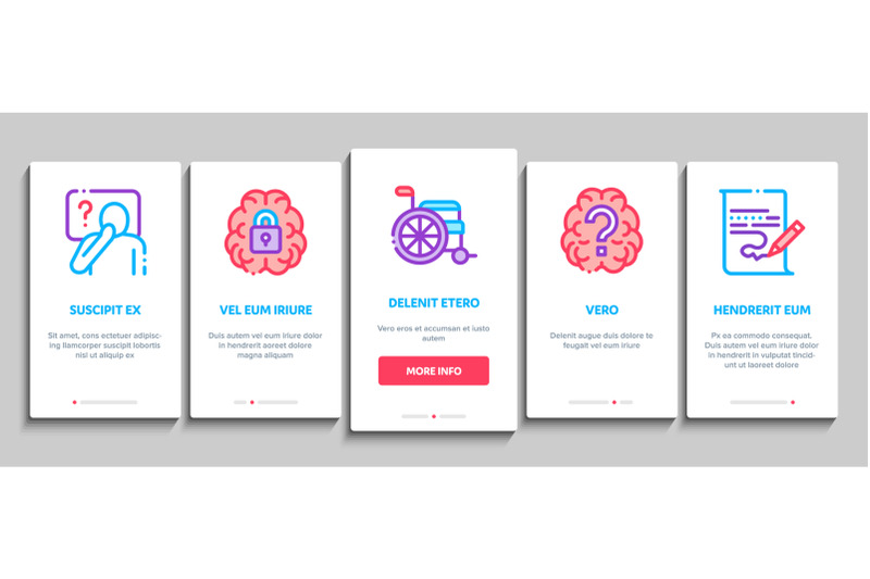 alzheimers-disease-onboarding-elements-icons-set-vector