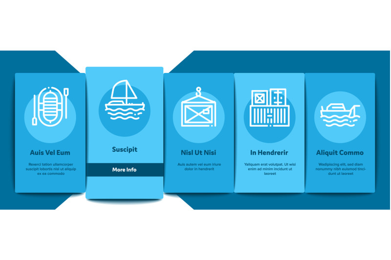 marine-port-transport-onboarding-elements-icons-set-vector