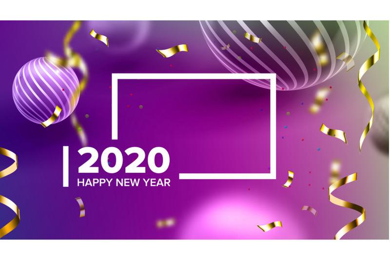 creative-invitation-card-celebrating-2020-vector