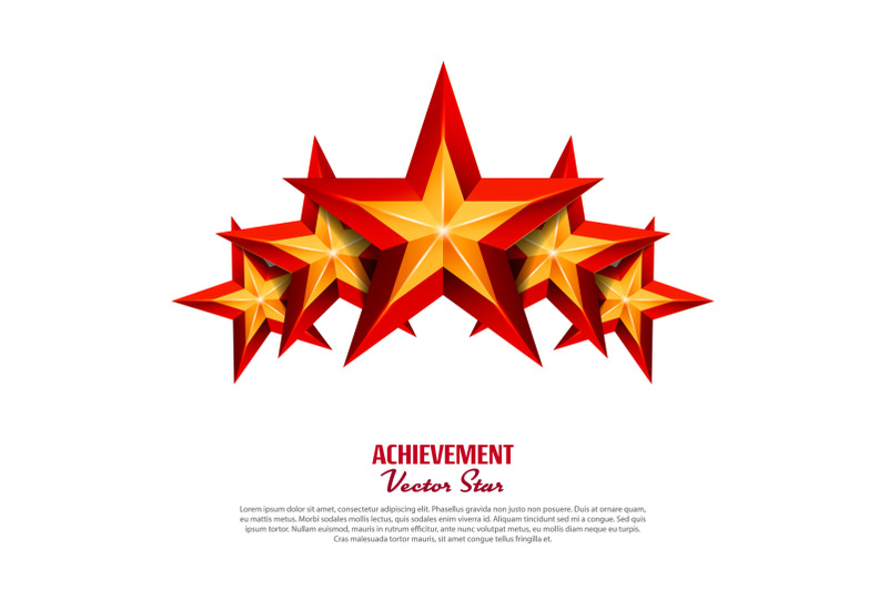 three-achievement-vector-stars-realistic-sign-golden-decoration-symbol-3d-shine-icon-isolated-on-white-background