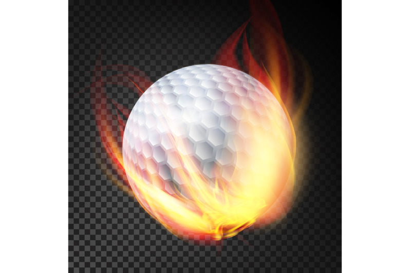 golf-ball-on-fire-burning-style