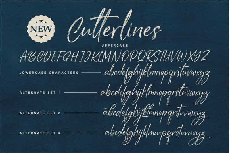 cutterlines-a-textured-typeface-script-font