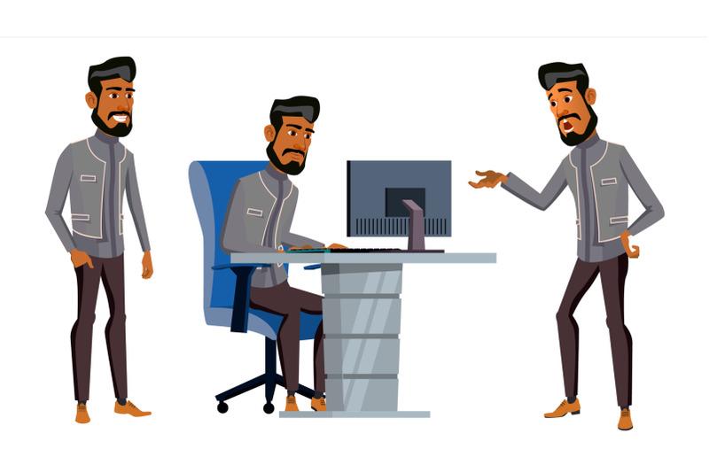 arab-man-office-worker-vector-business-set-saudi-emirates-qatar-uae-face-emotions-gestures-adult-entrepreneur-business-man-happy-clerk-servant-employee-illustration