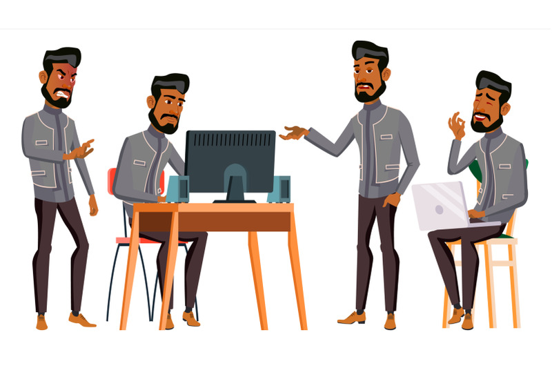 arab-man-office-worker-vector-business-set-islamic-facial-emotions-gestures-animated-elements-arabic-corporate-businessman-male-successful-officer-clerk-servant-illustration